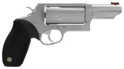 Taurus Judge Stainless Double-Action Revolver - 45 Colt (LC)/410 - 3'' - Right