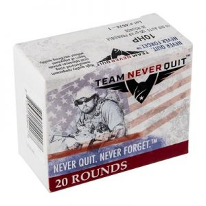 Team Never Quit Frangible Hp Ammo 10mm Auto 125gr Hp - 10mm Auto 125gr Frangible Hollow Point 20/Box