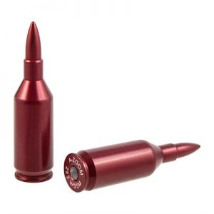 A-Zoom Ammo Snap Cap Dummy Rounds - Fits .223 Wssm, 2 Pack