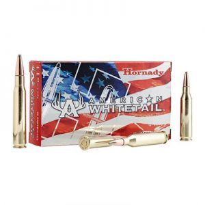 Hornady American Whitetail Ammo 243 Winchester 100gr Interlock Btsp - 243 Winchester 100gr Interlock Btsp 20/Box