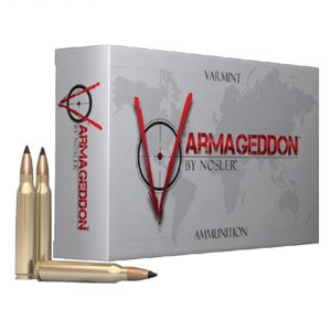 Nosler Varmegeddon Rifle Ammunition .17 Rem 20 gr FB Tippped 4200 fps - 20/box