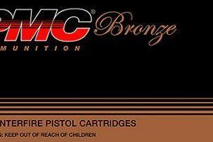 PMC Bronze Handgun Ammo - Jacketed Hollow Point - 9mm Luger - 50 Rounds