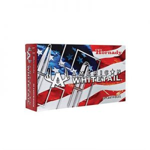 Hornady American Whitetail Ammo 7mm-08 Remington 139gr Interlock Sp - 7mm-08 Remington 139gr Interlock Spire Point 20/Box