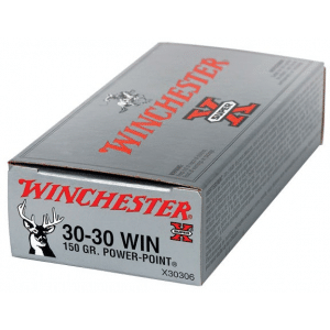 Winchester Super-X Power Point Rifle Ammunition .30-30 Win 150 gr PSP 2390 fps - 20/box