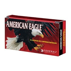 Federal American Eagle Rifle Ammunition ..300 AAC Blackout 150 gr FMJ-BT 1900 fps 20/ct