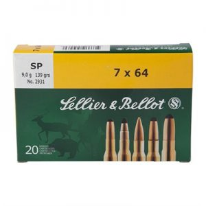 Sellier & Bellot 270 Winchester 150gr Sp Ammo - 270 Winchester 150gr Soft Point 20/Box