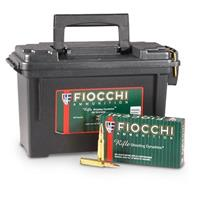 Fiocchi Shooting Dynamics, .308 Winchester, FMJBT, 150 Grain, 180 Rounds