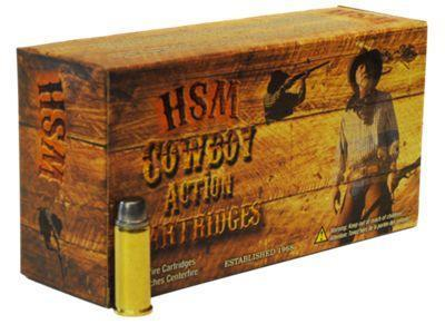 HSM Cowboy Action Centerfire Rifle Ammo - .45-70 Government - 20 Rounds