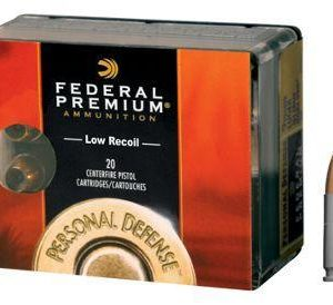 Federal Premium Personal Defense Pistol Cartidges - .380 Automatic Colt Pistol - 20 Rounds