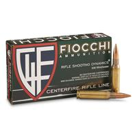 Fiocchi, .308 Win, FMJ, Rifle Shooting Dynamics, 150 Grain, 20 Rounds