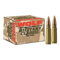 Wolf, .308 Winchester, SP, 168 Grain, 20 Rounds