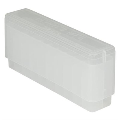 Berrys Manufacturing 20 Round Slip-Top Rifle Ammo Boxes - Clear 308 Family 20 Round Slip-Top Ammo Box
