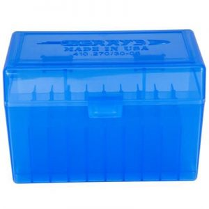 Berrys Manufacturing 50 Round Ammo Boxes - Blue 30-06 Family 50 Round Ammo Box