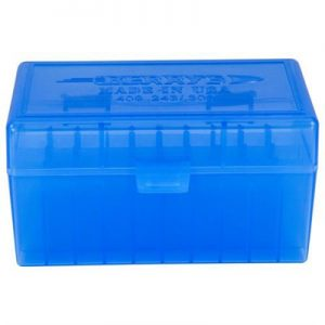 Berrys Manufacturing 50 Round Ammo Boxes - Blue 308 Family 50 Round Ammo Box
