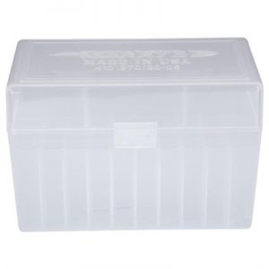 Berrys Manufacturing 50 Round Ammo Boxes - Clear 30-06 Family 50 Round Ammo Box