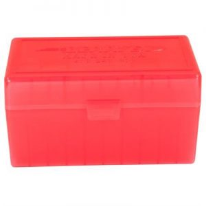 Berrys Manufacturing 50 Round Ammo Boxes - Red 308 Family 50 Round Ammo Box