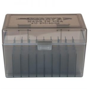 Berrys Manufacturing 50 Round Ammo Boxes - Smoke 30-06 Family 50 Round Ammo Box
