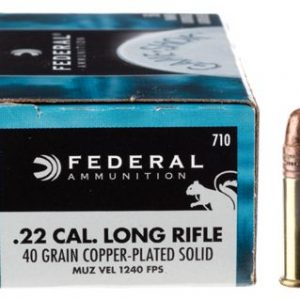 Federal Game-Shok Rimfire Ammo - .22 Long Rifle - 40 gr. - 50 rounds