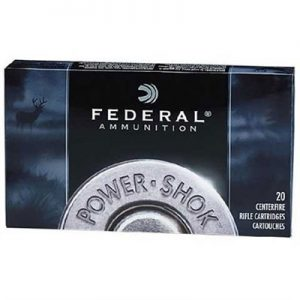 Federal Power-Shok Ammo 270 Winchester 130gr Sp - 270 Winchester 130gr Soft Point 20/Box