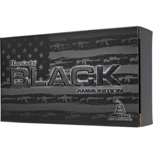 Hornady Black Rifle Ammunition .300 AAC Blackout 110 gr V-MAX 2375 fps 20/ct