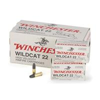 Winchester Wildcat, .22 Long Rifle, LRN, 40 Grain, 50 Rounds