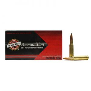 Black Hills Ammunition 308 Winchester 175gr Match Hollow Point Ammo - 308 Winchester 175gr Match Hp 500/Case