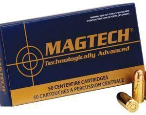 Magtech Sport Shooting Handgun Ammo - Semi-Jacketed Soft Point - .38 Special +P - 50 rounds