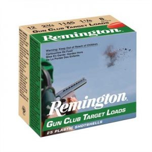 "Remington Gun Club Target Ammo 20 Gauge 2-3/4"" 7/8 Oz #8 Shot - 20 Gauge 2-3/4"" 7/8 Oz #8 Shot 25/Box"
