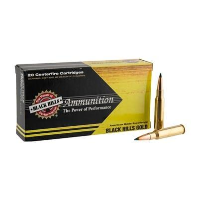 Black Hills Gold Ammo 308 Winchester 175gr Tipped Matchking - 308 Winchester 175gr Tmk 100/Case