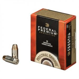 Federal Personal Defense Ammo 10mm Auto 180gr Hydra-Shok - 10mm Auto 180gr Jacketed Hollow Point 20/Box