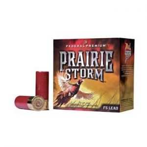 "Federal Prairie Storm Ammo 20 Gauge 2-3/4"" 1 Oz #4 Shot - 20 Gauge 2-3/4"" 1 Oz #4 Shot 25/Box"