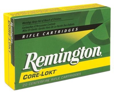 Remington Core-Lokt Rifle Ammo - .22-250 Remington - PSP - 55 Grain