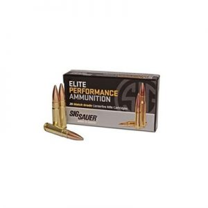 Sig Sauer Elite Performance Match Ammo 300 Aac Blackout Subsonic 220gr Otm - 300 Aac Blackout Subsonic 220gr Otm 20/Box