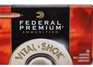 Federal Premium Vital-Shok Trophy Copper Rifle Ammo - 180 Grain - .30-06 Springfield - 20 Rounds