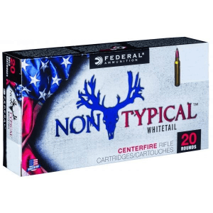 Federal Non-Typical Whitetail Rifle Ammunition .30-30 Win 150 gr SP 20/ct