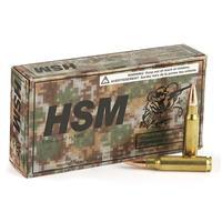 HSM Range Ammo, .308 (7.62x51mm), FMJ, 147 Grain, 160 Rounds, Remanufactured/Blem.