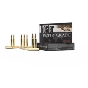 Nosler Trophy Grade Ammo 7mm-08 Remington 140gr Accubond - 7mm-08 Remington 140gr Accubond 20/Box