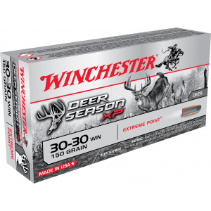 Winchester Deer Season XP Rifle Ammunition .30-30 Win 150 gr PT 2390 fps 20/ct