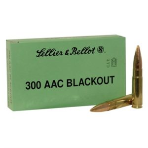 Sellier & Bellot 300 Aac Blackout 115gr Hpfb 50/Box - 300 Aac Blackout 115gr Open Tip Match 50/Box