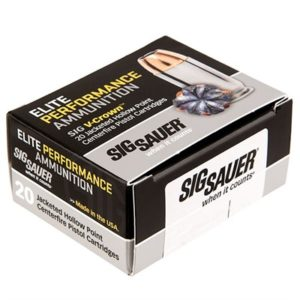 Sig Sauer Elite Performance Ammo 9mm Luger 147gr Jhp - 9mm Luger 147gr Jacketed Hollow Point 200/Case