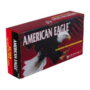 American Eagle Ammo 40 S&W 180gr Fmj Ammo Can - 40 S&W 180gr Full Metal Jacket 50/Box