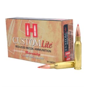 Hornady Custom Lite 7mm-08 Remington Sst Ammo - 7mm-08 Remington 120gr Sst 20/Box
