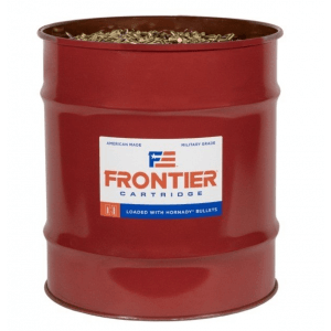 Hornady Frontier Rifle Ammunition .223 Rem 55 gr FMJ 3240 fps 13889/ct Barrel