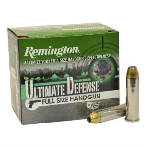 Remington Hd Ultimate Defense Ammo 357 Magnum 125gr Jhp - 357 Magnum 125gr Jacketed Hollow Point 20/Box