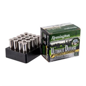 Remington Ultimate Defense Ammo 38 Special 125gr Bjhp - 38 Special 125gr Brass Jacketed Hollow Point 20/Box