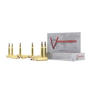 Nosler Varmageddon Ammo 17 Remington 20gr Flat Base Tipped - 17 Remington 20gr Flat Base Tipped 20/Box
