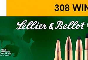 Sellier & Bellot Centerfire Rifle Ammo - .308 Winchester - 180 Grain - 20 Rounds - Soft Point