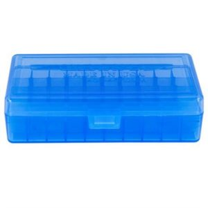 Berrys Manufacturing 50 Round Ammo Boxes - Blue 40 S&W/45 Acp 50 Round Ammo Box