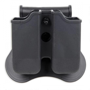 Bulldog Polymer Mag Holder w/ Paddle Fits Glock 17-19-22-23-26-27-31-32-33-34 - Ambixetrous