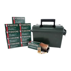 Fiocchi Ammunition Shooting Dynamics Ammo 300 Aac Blackout 150gr Fmj Ammo Can - 300 Aac Blackout 150gr Full Metal Jacket 500/Ammo Can